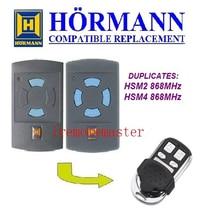 1pcs Hormann HSM2 868,HSM4 868mhz replacement remote control top quality 5pcs dea mio td 2 4 replacement remote control top quality