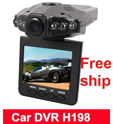 "Free shipping New 2.5"" TFT LCD Vehicle Car Camera HD DVR Dashboard Recorder"