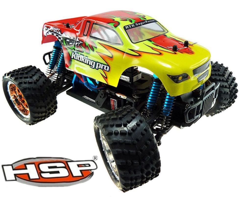 HSP 94186 pro 1/16 Scale 4WD Brushless Electric Power Off-road Monster Truck RC Hobby Car RTR brinquedos P2 02023 clutch bell double gears 19t 24t for rc hsp 1 10th 4wd on road off road car truck silver