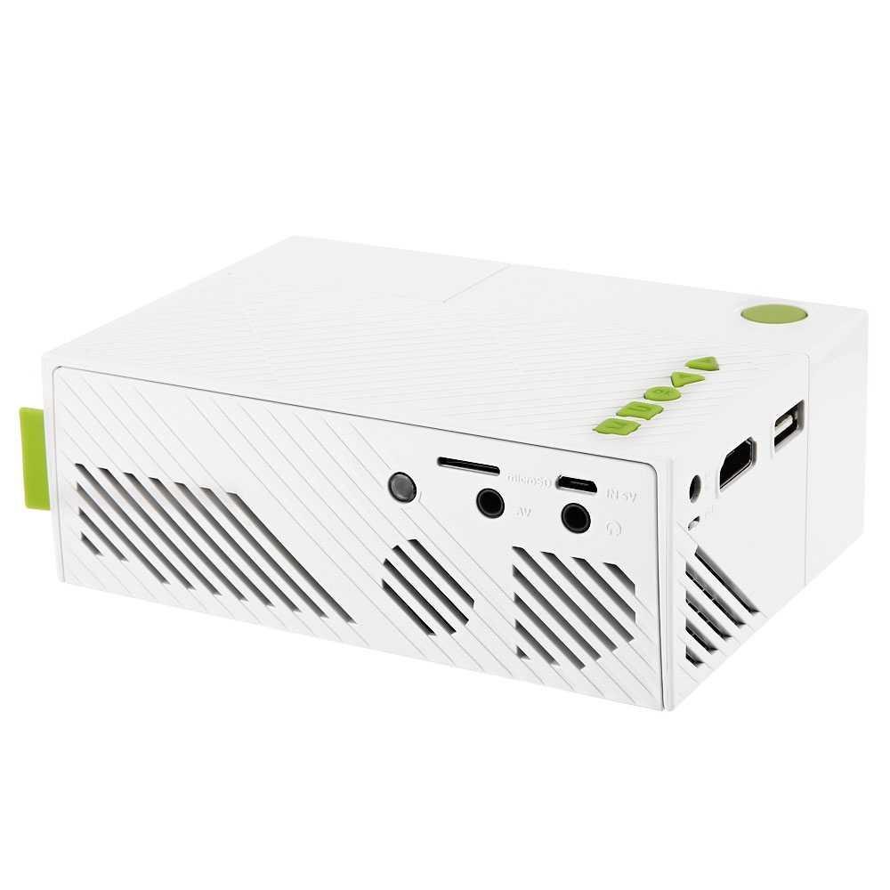 600LM YG310 ЖК-Проектор Домашний Медиа-Плеер Мини-Проектор Видео Игры ТВ Домашний Кинотеатр Поддержка HDMI AV SD
