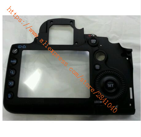 95% New For Canon 5D Mark III 5D3 Back Cover Rear Case Camera Replacement Unit Repair Parts original rear back cover shell for nikon d5500 camera replacement unit repair parts