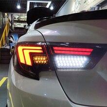 סטיילינג המכונית טויוטה רייז טאיליט עצרת 2013 2019 סימן X LED זנב אור אחורי מנורת כל LED טאיליט