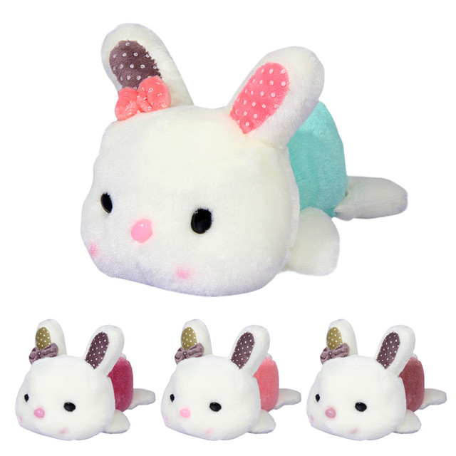 20cm Cute Baby Soft Plush Toys Bowknot Rabbit Little Bunny Stuffed