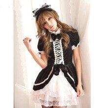Trajes de la criada de anime cosplay ropa del anime japonés anime disfraces mujeres disfraces de halloween para mujeres cosplay ropa
