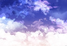Laeacco Dream like Blue Sky White Clouds Portrait Photography Backgrounds Customized Photographic Backdrops For Photo Studio