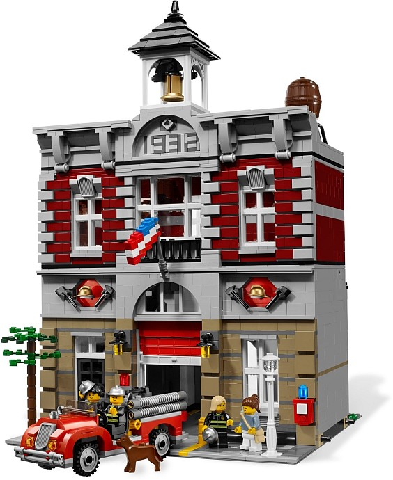 2017 New Arrival 15004 2313Pcs City Street Fire Brigade Model Building Kits Blocks Bricks Compatible with 10197 a toy a dream lepin 15008 2462pcs city street creator green grocer model building kits blocks bricks compatible 10185