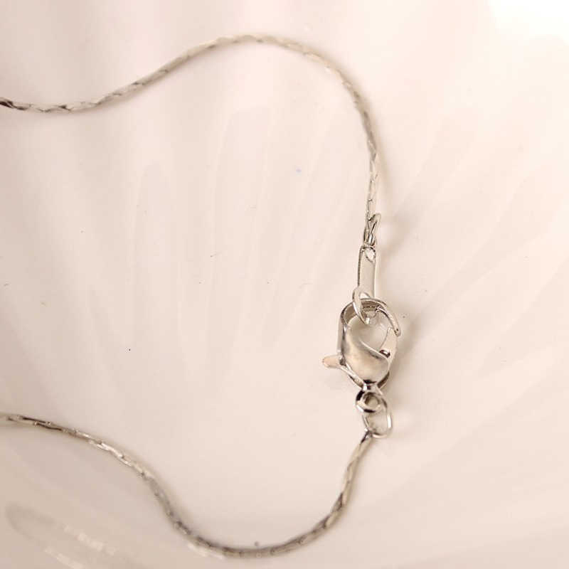 2019 lato łańcuch srebrny krzyż wisiorek naszyjnik mały srebrny krzyż religijne biżuteria kobiety mężczyźni naszyjnik