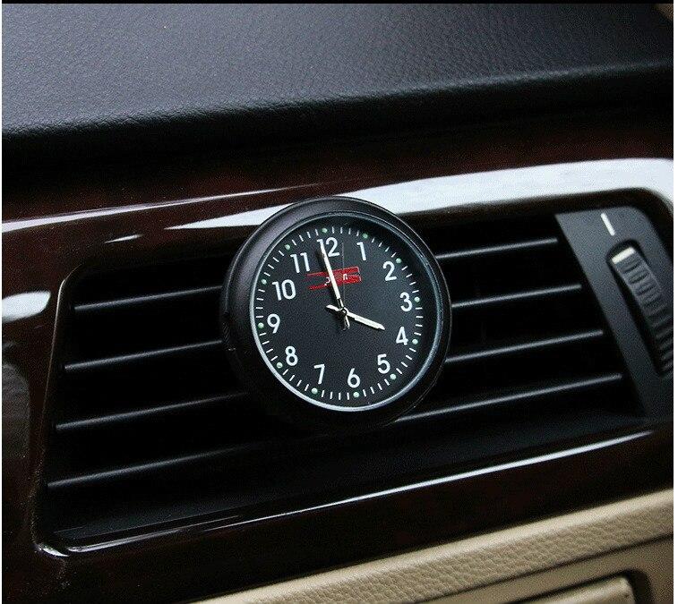 Yixinyou Mini Clock In Car Luminova Mechanics Quartz Clock Mini Car