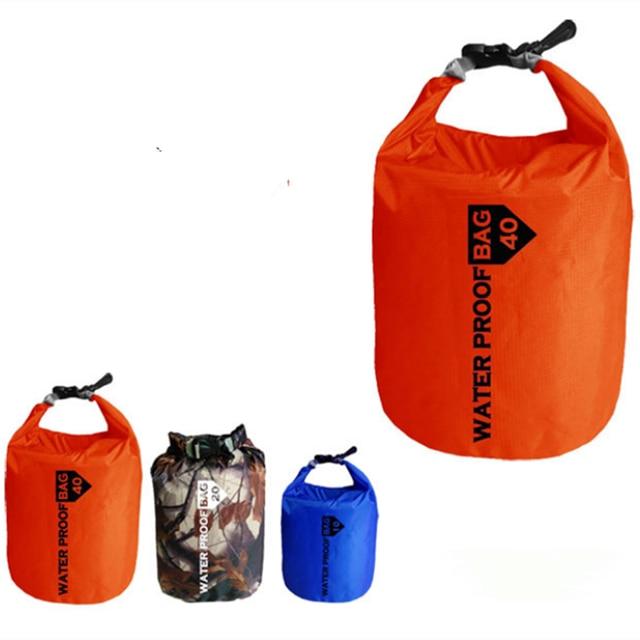 10l Waterproof Swimming Dry Bag Ultralight Handbag Phone Camera Storage For Camping Floating Boating Kayaking