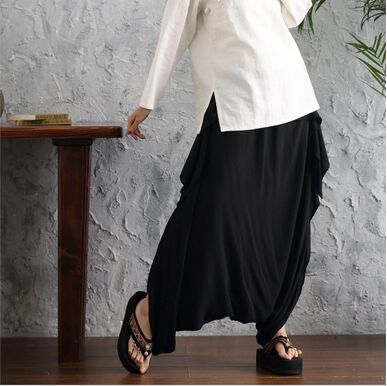 Fashion New Brand Spring Women Oversize Pants Female Loose Hanging Trousers Lantern Wide Leg Pants Casual