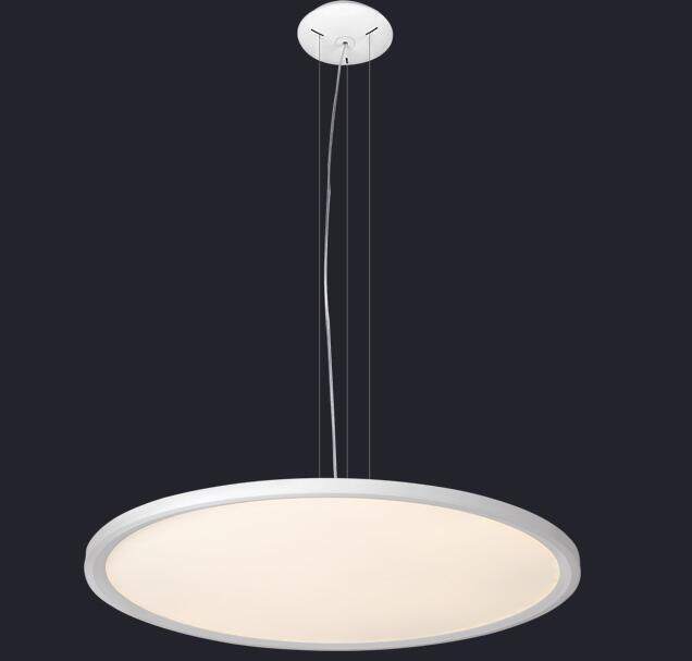 Modern ring LED pendant light hanging lamp thin circular dining-room modern minimalist living room pendant light Office lamps ZA single head small bar of korean modern minimalist iron pendant lamps dining room pendant light the living room kitchen