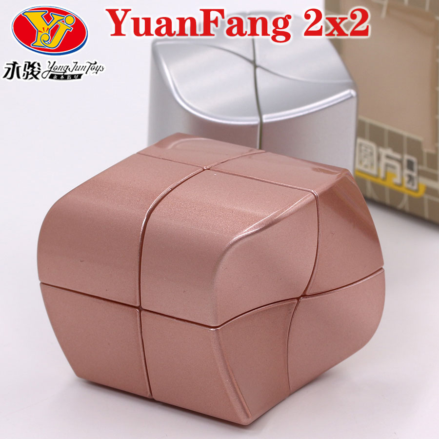 Puzzle Magic Cube YongJun 2x2x2 Cube YuanFang Special Educational Twist Logic Toys Game Professional Speed Cube New Arrival Gift
