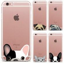 Cute Cartoon Animal Cat Dog BULLDOG Phone Case