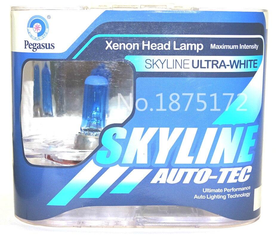 10 pièces H11 55 W DC 12 V 5000 K Super blanc voiture phare ampoule brouillard lampe ampoule Auto tête ampoules Automobiles Source lumineuse blanc
