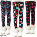 New 2016 Autumn Winter Baby Girls Leggings Kids Plus Velvet Thick Winter Pants Legging For Girl Children's Casual Warm Trousers