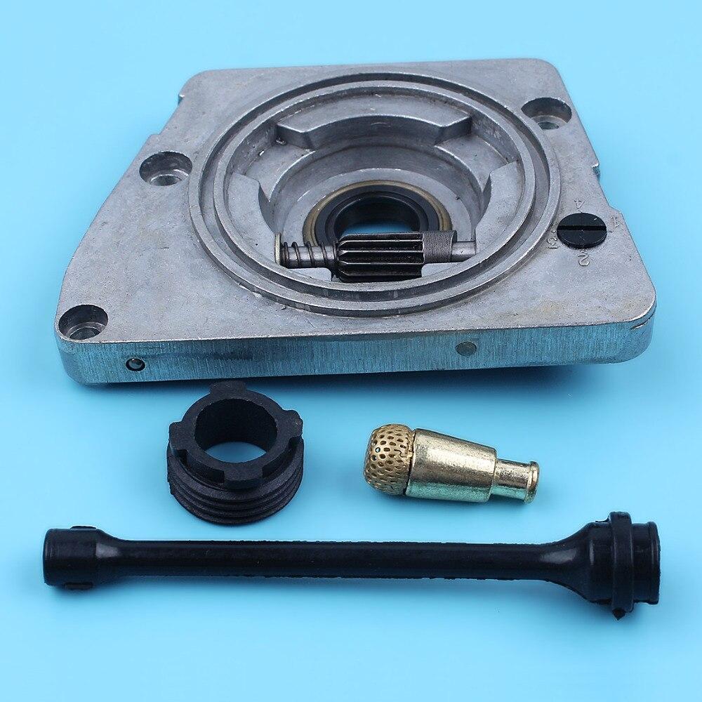 2X Oil Pump Worm Gear For HUSQVARNA 268 61 66 266 272 Chainsaw OEM 501 51 38-01