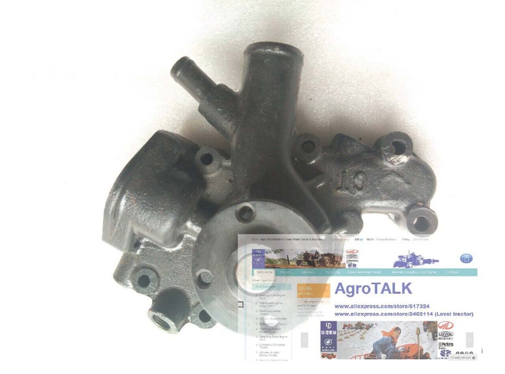 Changchai 4L68 parts, the water pump, please check the shape when make the order