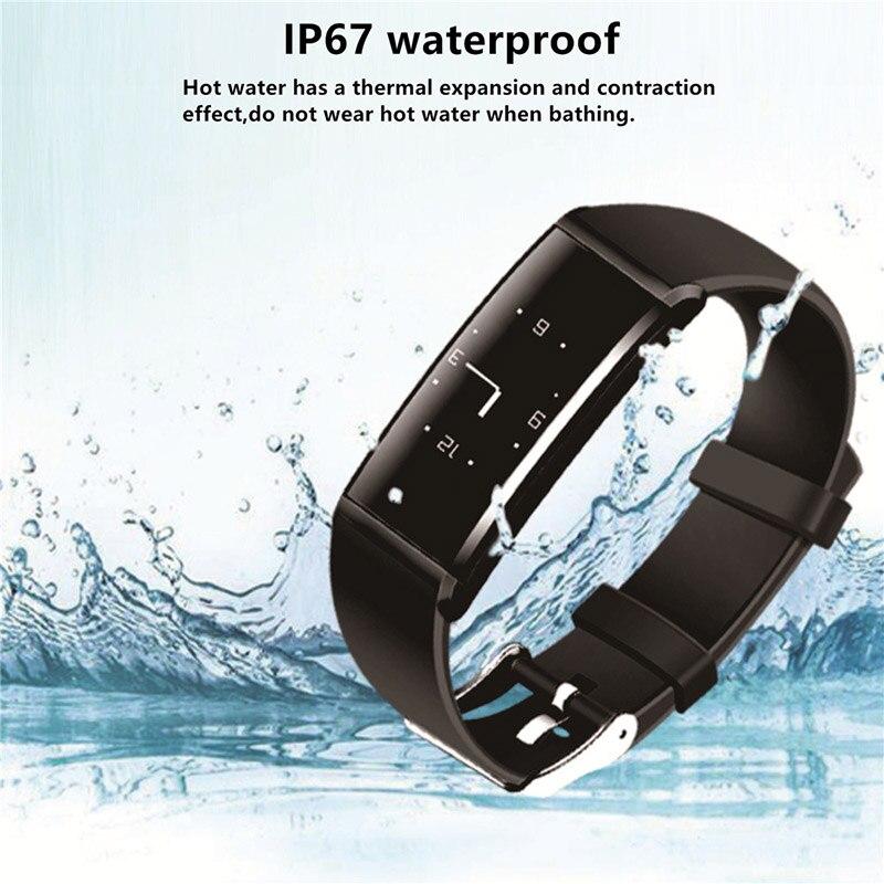 2017 новые X9 Smart Браслет Bluetooth полоса часы с удаленного Управление Smart импульсный крови Мощность SmartBand Re Mi ND pk mi Группа 2 S2