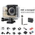 Extra 1pcs battery+ Monopod Sj 4000 Mini Camera 720P HD Sport DV Action Video Camera Mini Camcorders Bike Helmet Cam Dvr