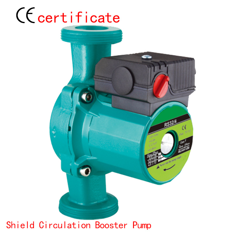 CE Approved shield circulating booster pump RS32-4, pressurized with industrial equipment, air condition, solar , warm water household heating hot water circulation pump to warm the ultra quiet booster pump central heating boiler air condition 100w 220v