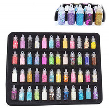 12~48Pcs Lizun DIY Slimes Accessories Kit Glitter Filler Charms for Fluffy Slime Anti Stress Sludge Toy Plasticine Kids Gift