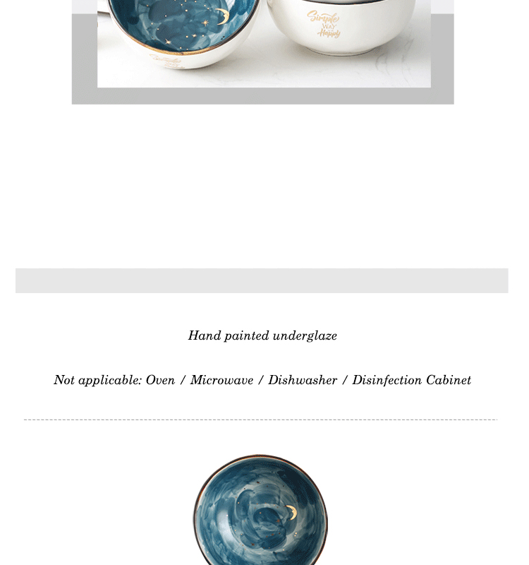 Eecamail phnom penh cerâmica bonito tigela de
