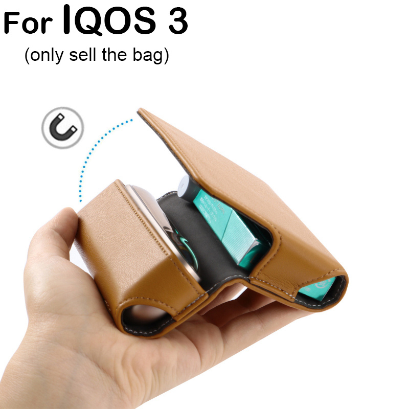 Good Quality Case For 3 Case For 3 0 Cigarette For IQOS Accessories Protective Cover Bag PU Leather Cases Accessory