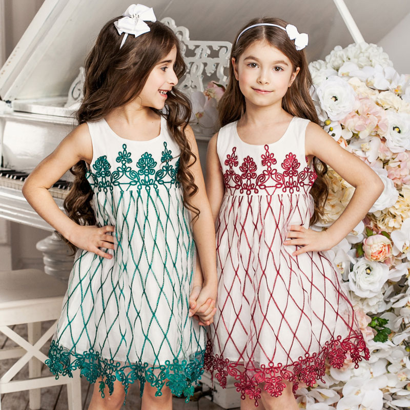 ChildDkivy 3-10 Years Girls Lace Dress for Kids Clothes 2018 Summer Princess Dress Vestido Infantil Children Dresses for Party