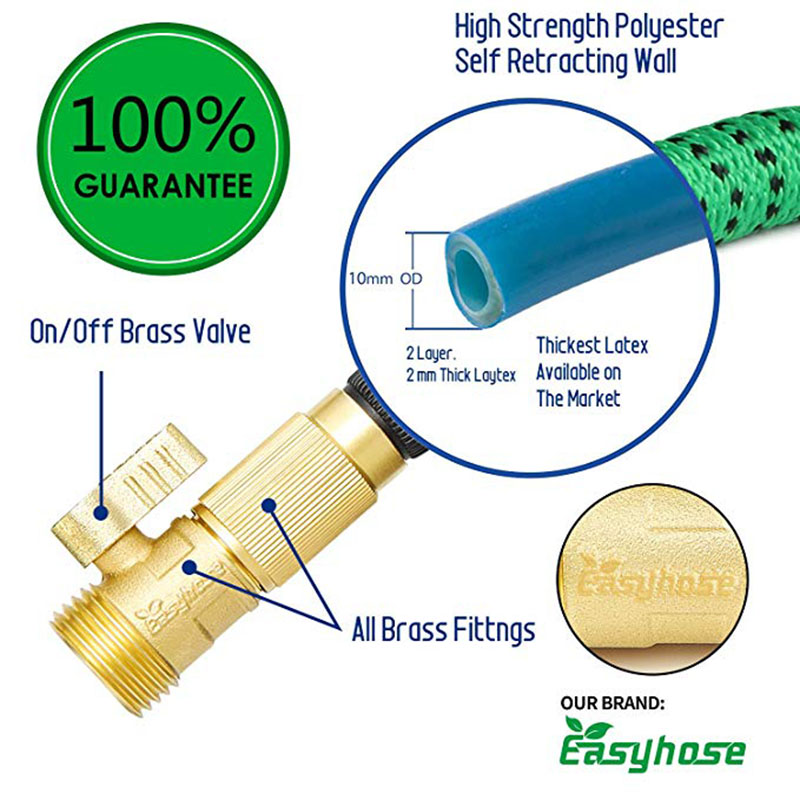 Image 4 - Garden hose expandable bonsai gardening water garden potted water drip magic rubber elastic orchard garden for car wash suit-in Garden Hoses & Reels from Home & Garden