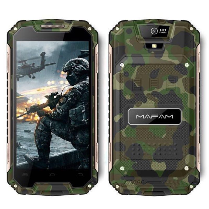 Mafam X20 Rugged Outdoor Android 6.0 Smartphone 5.0inch QHD Screen Quad Core 1+8GB 3G WCDMA 2G GSM Slim Mobile Phone
