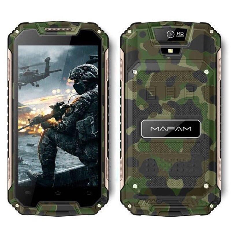 Smartphone extérieur robuste Android 6.0 mampa X20 écran QHD 5.0 pouces Quad Core 1 + 8 GB 3G WCDMA 2G GSM téléphone Mobile mince