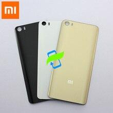 Funda trasera Original para Xiaomi Mi 5 Mi5, carcasa de cristal para la parte trasera de la batería