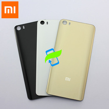 Original For Xiaomi Mi 5 Mi5 Back Battery Cover Back Housing Glass Cover Case  For XIAOMI mi5 Rear Door Back Cover