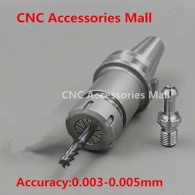 BT40 ER16/ER20/ER25/ER32 150L ATC Spindle tool holder with Pull Stud c40 er32 150l c40 er32 200l c40 eru40 100 extension rod er20 er25 er32um er40 cnc collet