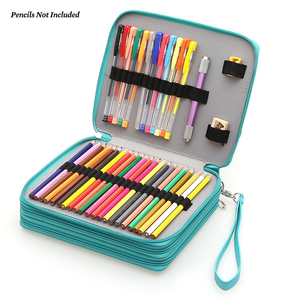 Image 5 - Dainayw 127ホルダー大容量スクール鉛筆ケースpuレザーポータブル色鉛筆ホルダーペンバッグ用アーティスト生徒