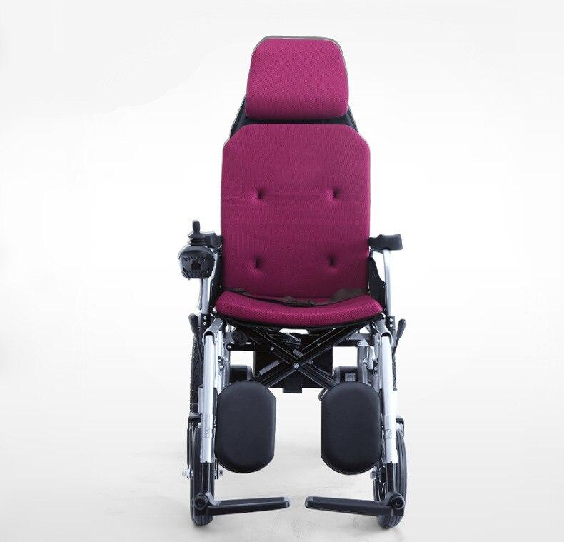 Электрический скутер для старика с мощным двигателем и удобной подушкой