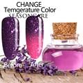 SEASONCARE Chameleon Nail Gel Polish Temperature Thermal Color Change Gel Nail Varnish Soak Off Long Lasting