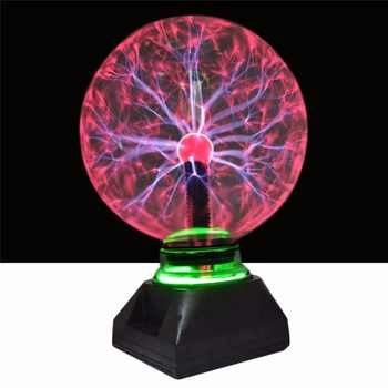 Xmas4 5 6 8 inch plasma ball Glass Light Crystal Light Plasma Ball Lamp For Christmas Home Decoration Lighting kids gifts - DISCOUNT ITEM  30% OFF All Category