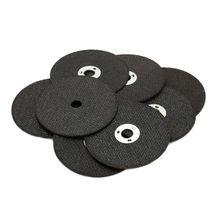 20Pcs 75mm Wood Cut Off Wheel Angle Grinder 10mm Hole Cutter Resin Cutting Disc 1.6mm Thickness Metal Fiber Hot