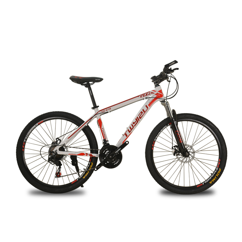 Mountain Bike Steel Shock Absorption 21-speed Aluminum Alloy Mountain Bikes Variable Speed Bicycle