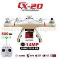 Profesional cheerson cx-20 cx20 cx 20 rc quadcopter drone con sj7000 Cámara De 14MP O Ninguna Cámara GPS AUTO Go Home VS Phantom 2