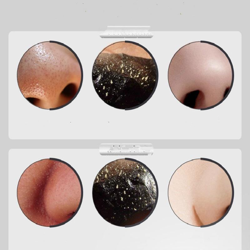 100pcs/lot PILATEN Black Mask Acne Blackhead Mask Peel Off Black Head Remover Face Mask Beauty Deep Cleansing Skin Care 18