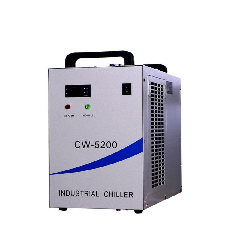 RF Tube Semiconductor Laser UV-LED Lamp Chiller CW-5200