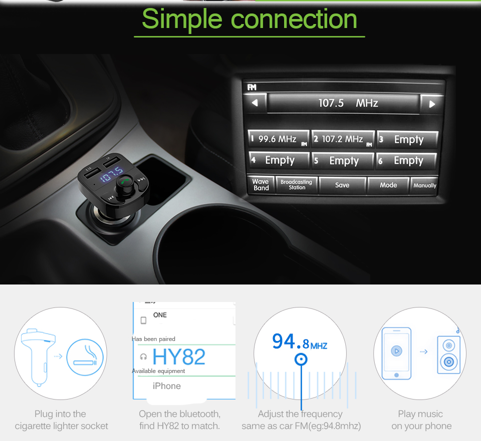 bluetooth car kit 7