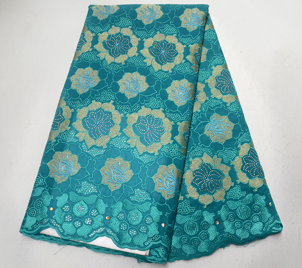 African cotton Swiss voile lace fabrics 2019 high quality cotton french dry Nigerian voile lace in Switzerland with stonesAfrican cotton Swiss voile lace fabrics 2019 high quality cotton french dry Nigerian voile lace in Switzerland with stones