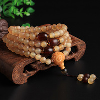 Tibet pure natural beads bracelets 108 fidelity claw oil transparent Wenwan claw crafts folk style