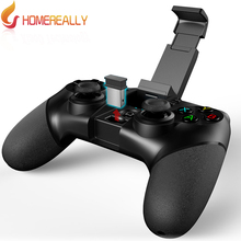 HOMEREALLY IPEGA PG-9076 Gamepad Wireless Bluetooth Game Controller Joysticker Gamepad Handset For Smartphone Tablet TV Box PS3