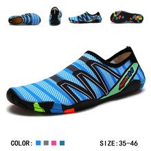 Tenisówki typu uniseks plaży buty do wody dla buty do pływania kobiety mężczyźni Sneakers nurkowanie boso buty do wody kapcie na morze buty tanie tanio Yozihis Slip-on Profesjonalne Anti-śliskie Pasuje prawda na wymiar weź swój normalny rozmiar Spring2019 Elastycznej tkaniny