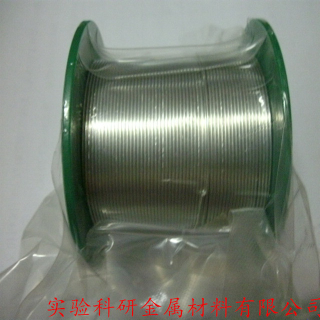 High purity  indium wire  1.0mm 1.5mm 3.0mm experimental research special line