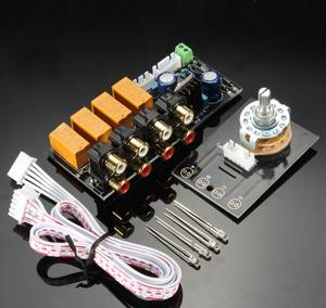 Audio Input Signal Selector Relay Board Signal Switching Amplifier Board RCA For Speakers(China)